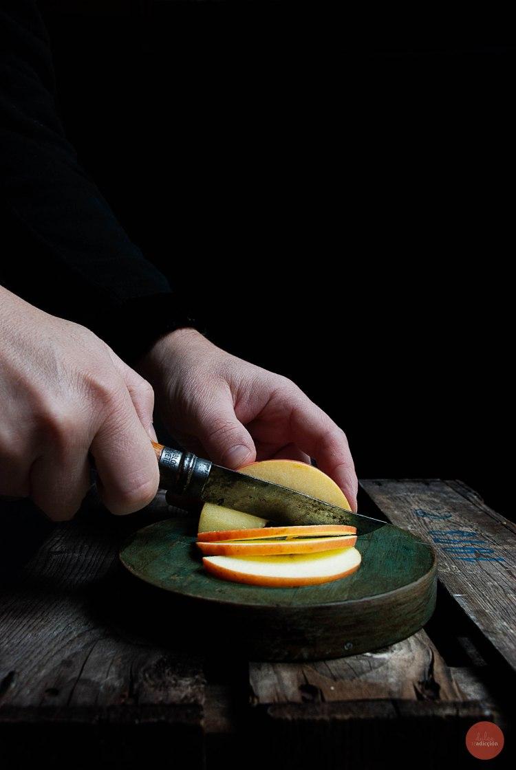 Apple slices 01