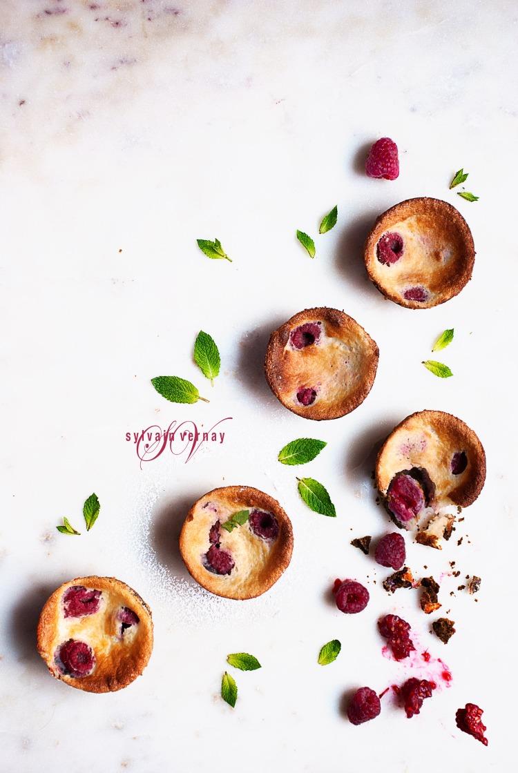 Tartelettes mascarpone-framboises