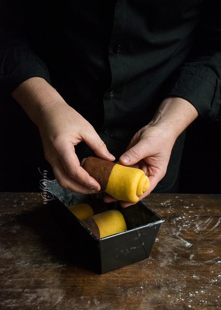 Pan tangzhong en molde